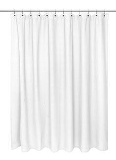 Hamblin Waffle Weave 100% Cotton Single Shower Curtain