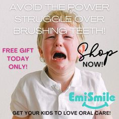 🎁 30% OFF EMISMILE BRUSH! BUY 2, RECEIVE A FREE GIFT!! 🎁 Grab Yours!!👉www.EmiSmileBrush.com LAST DAY!! Tomorrow this deal will be GONE! Shop NOW!! End the tooth brushing drama! Get the BEST Stocking Stuffer that your kids will LOVE! 100% satisfaction guaranteed! Stay Safe and Healthy!! Dental Health, Oral Health, Toddler Tooth Decay, Kids Electric Toothbrush, Tooth Brushing, Heal Cavities, Best Stocking Stuffers, Child Smile, Toddler Development