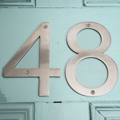 Number three 3 house number or birthday BIG window sticker or wall decal   Door numbers London house and Farrow ball & Number three 3 house number or birthday BIG window sticker or wall ...
