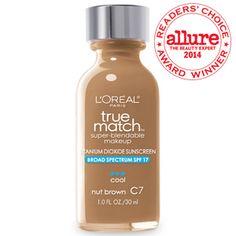 True Match™ Super Blendable Makeup C7 Nut Brown (Cool)  Foundation || At your local CVS $10