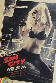 Sin City Movie Vintage Poster Wall Bar Wall Art