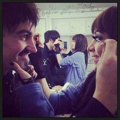 Vex and Kenzi. Mascara buddies <3 <3
