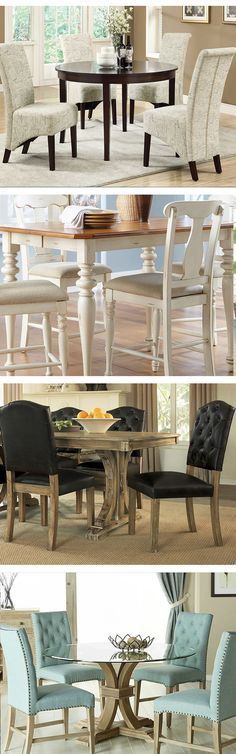 The dining table is the central element of your dining room as the place where everyone gathers. A large room is perfect for a round dining table, or if you prefer a rustic style choose the sturdy farmhouse table. Visit Wayfair and sign up today to get access to exclusive deals everyday up to 70% off. Free shipping on all orders over $49.