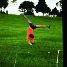 kitkatpenn's video on Instagram myflexiart on the golf course cheeky monkey