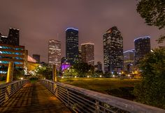 Foot Bridge to Downtown by Tim Stanley