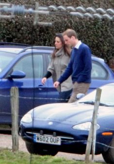 Prince William and Kate Middleton at a Pub. February, 14th 2010
