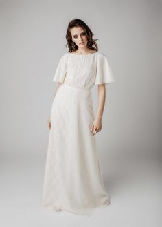 MADRID wedding gown Wedding Wear, Wedding Gowns, Light And Shadow, Vintage Lace, Madrid, Cold Shoulder Dress, White Dress, Formal Dresses, How To Wear