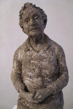 Florence Parsons by Suzie Zamit. Clay.