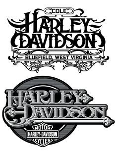 Hydro74 Illustration Graphic Design Art Poster Harley Logo