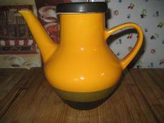 Alte-Melita-Kaffeekanne-Kanne-top-Zustand-70er-Jahre