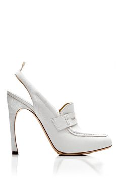 Thom Browne Spring/Summer 2014 Trunkshow Nurse Shoe In White on Moda Operandi