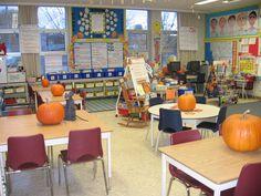 fall in the classroom