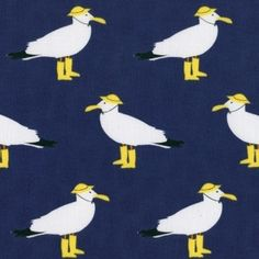 Jack and Lulu - Its a Shore Thing - Seagulls in Navy