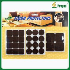 Heavy Duty Non Scratch Felt Pad Kit Floor Protector F5M28 #Adhesive Floor  Protector Is For