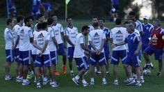 Lo tiene de punto: Lavezzi, otra vez, se burla de Sabella | Mundial Brasil 2014, Selección Argentina, Ezequiel Lavezzi, Alejandro Sabella