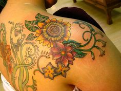 sunflower tattoo - Google Search