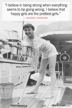 Best Audrey Hepburn Quotes - Audrey Hepburn 85th Birthday - Marie Claire