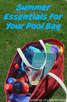 Music, Summer Memories, and My Pool Bag #BestSummerMemories #ad