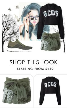 """Untitled #31"" by lanln16 ❤ liked on Polyvore featuring Faith Connexion, GCDS and NIKE"