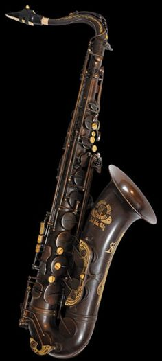 "Cannonball Vintage Series saxophones are designed specifically for those desiring a classic sound, look, and feel. These beautifully classic instruments capture the compact core, lively resonance, and focused projection of horns from the early and mid 1900s. Each saxophone is hand-engraved by artisans. Pictured is ""The Brute"" aged brass."