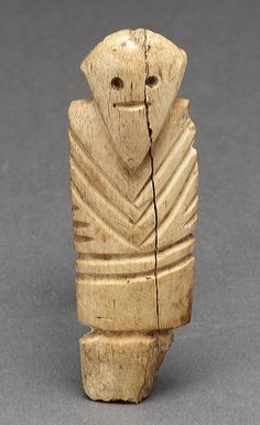 Male Figurine, Egyptian Predynastic, Late Naqada I - Early Naqada II 3750-3550 BCE, Ivory