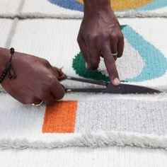 """Doshi Levien's rugs for Nanimarquina capture  the """"joy and celebration of the Rabari"""""""
