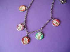 Maneki Neko Necklace..
