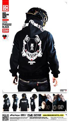 by on DeviantArt Mode Cyberpunk, Cyberpunk Fashion, Future Fashion, Streetwear, Hoodies, Sweatshirts, Costume Design, Shirt Designs, T Shirt