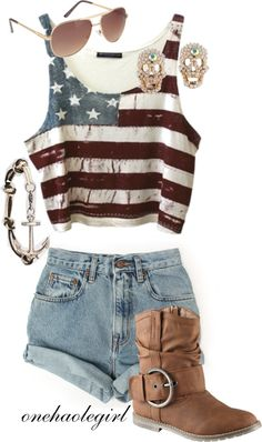 Perfect 4th of July outfit. Check out the website, some girl tried a new diet and tracked her results