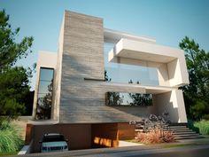 Olivos House by Creato Arquitectos, via Behance
