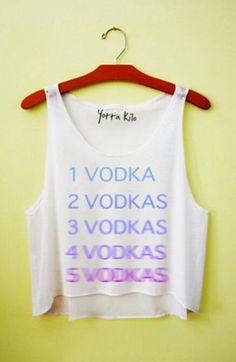 Lol I love vodka!:)