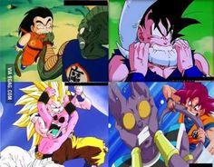 Nothing changed. #Goku