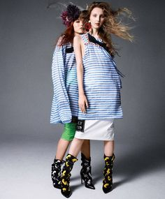 Models wear the resort collections styled by Harper's Bazaar global fashion director Carine Roitfeld Fashion Shoot, Editorial Fashion, Fashion Trends, Carine Roitfeld, Full Body Costumes, Elements Of Style, Princess Style, Harpers Bazaar, Fashion Books
