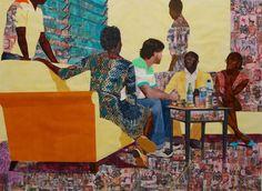 Njideka Akunyili Crosby-something split and new-nigerian art