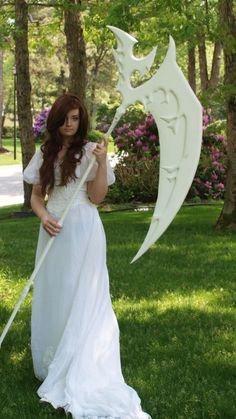 Vampire Night wedding dress:  scythe sold separately  :-)