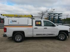 This is the first of 6 trucks for the Mikkelson Coward fleet done by Speedpro Imaging Winnipeg.  See your local Speedpro today regarding your vehicle fleet!
