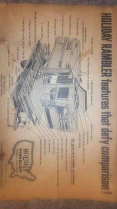 211 Best holiday rambler trailers images | Remodeled campers ... Holiday Rambler Wiring Diagrams Bathroom on