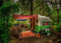 Semi-camping - Hidden hideaway
