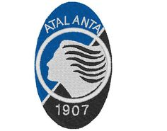Atalanta logo--machine embroidery pattern--instant download by tagi74 on Etsy