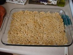 This Food = Love: Peanut Butter Rice Krispy Treats