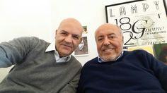 Marco Eugenio Di Giandomenico ed Elio Fiorucci (Milano, 19 febbraio 2015)