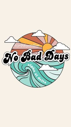 No bad days VSCO wallpaper - Vintage Wallpaper Iphone, Wallpaper Sky, Wallpaper Computer, Iphone Wallpaper Vsco, Iphone Background Wallpaper, Aesthetic Iphone Wallpaper, Aesthetic Wallpapers, Lock Screen Wallpaper, Iphone Wallpapers