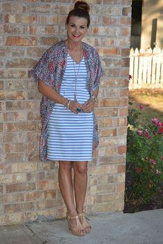 Styling a Summer Dress + Link-Up - A Lovely Little Wardrobe