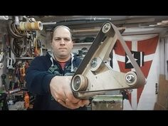DIY - Mini Belt Sander (Levigatrice Sbavatrice a nastro) - YouTube