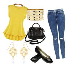 """""""Mottle jeans"""" by shaista-bismilla on Polyvore featuring Topshop, Merona, Accessorize and Bold Elements"""