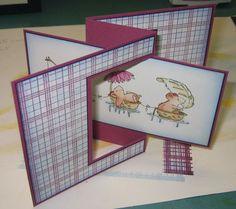 Kunst á la Card: mausige Swing-Karte