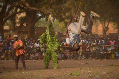 Festima: la fête des masques de Dédougou 2014. Fête pour fêter le début de l'hivernage (Saison des pluies)