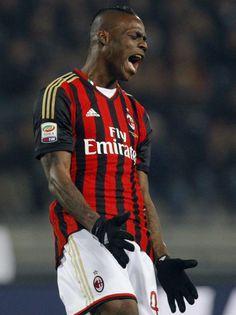 cd50c84adba Mario Balotelli of AC Milan