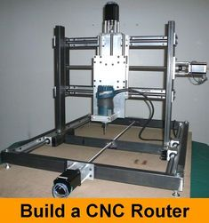 If you have any interest in purchasing a kit version of this machine please click the above button and complete the form so that I can gauge the level of interest.This instructable will show you how to construct a CNC Router that will allow you to cut 3-D shapes out of wood, plastic and aluminum using a standard hand held router. Recently I have noticed that more and more projects on instructables have involved the use of some sort of CNC machine, be it a laser cutter, 3d printer, milling…