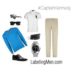 """#CaptainKennedy"" by labelingmen on Polyvore"